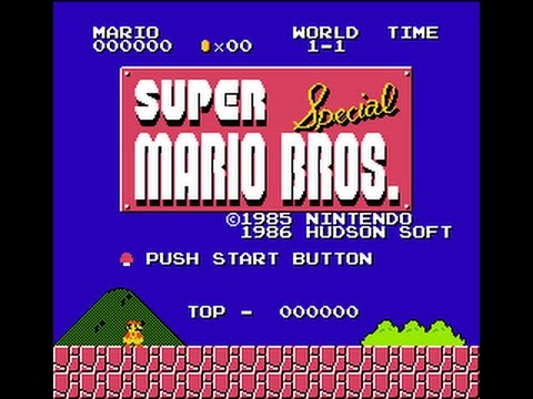 Super Mario Bros. Special with X1 Graphics (SMB1 Hack)