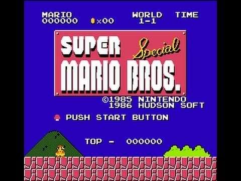 Super Mario Bros  Special with X1 Graphics (SMB1 Hack