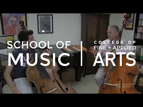 Strings - Professor Michael Cameron - Double Bass Lesson