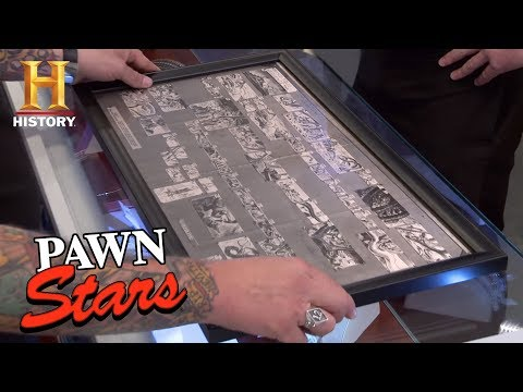 Pawn Stars: Disney Storyboards