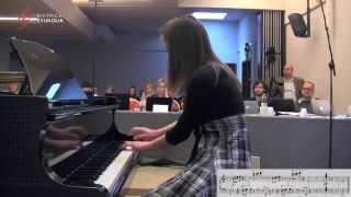Franz Liszt: Etuda d - mol op. 1, br. 4 - Petra Podhraški, klavir / Bistrički ZVUKOLIK 2014.