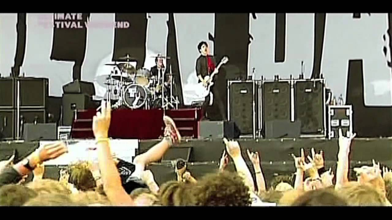 green day american idiot live 2005 rock am ring hd. Black Bedroom Furniture Sets. Home Design Ideas