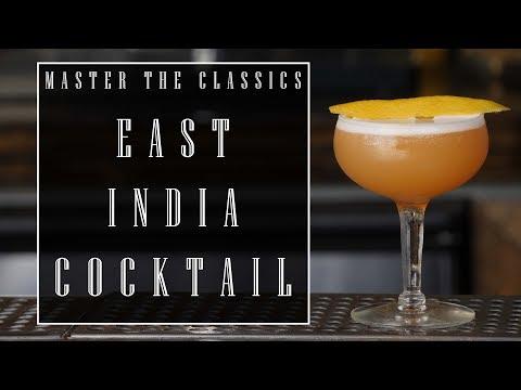 Master The Classics: East India Cocktail