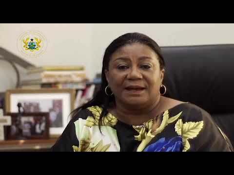 First Lady of Ghana on the COVID-19 Pandemic!