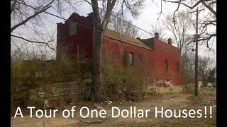 Today We Look at One Dollar Houses!! (Also the House of a Missing Man)