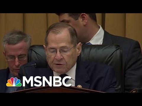 President Donald Trump Asserts Executive Privilege Over Mueller Report, Nadler Responds | MSNBC
