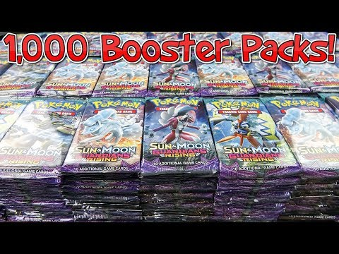 Opening 1,000 Pokemon Booster Packs - Guardians Rising