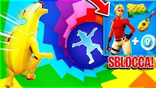 "If I WIN BLOCK the ""NEW"" STARTER PACK of SEASON 8!! (Rainbow Dropper 2.0) Fortnite ITA"