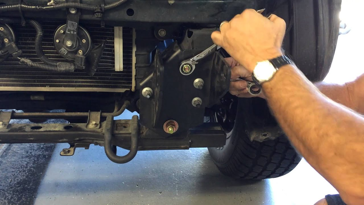 Road Armor Bumpers Installation On A Toyota Tacoma Youtube