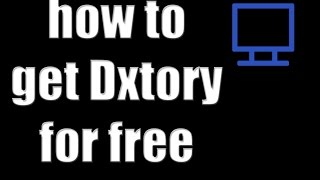 How to download Dxtory full version for free!!