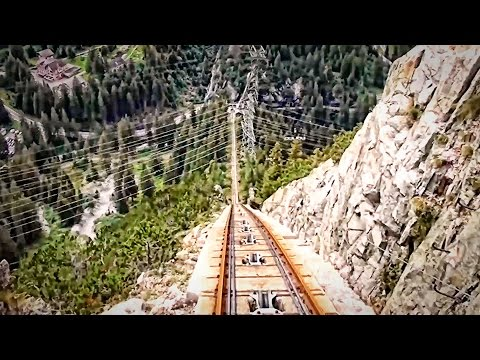 Gelmerbahn: The Highest Roller Coaster in the World