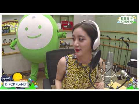 [HD] [Wonder Girls Hyerim CAM] 150823 원더걸스 혜림 - K POP PLANET RADIO