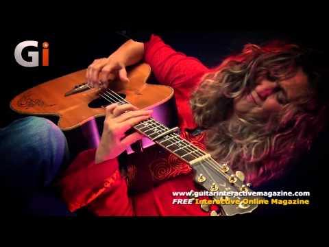 Vicki Genfan Norwegian Wood Live Performance   Guitar Interactive Magazine