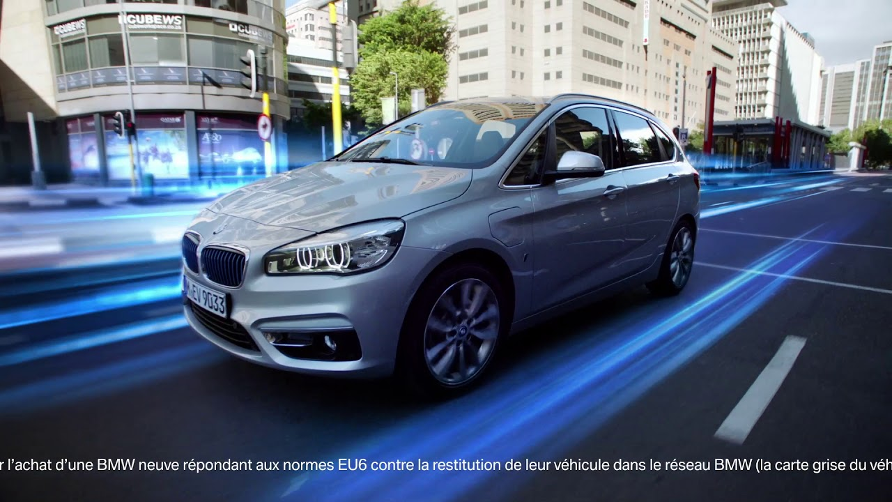 Bmw Série 2 Active Hybride Rechargeable Youtube