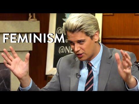 Milo Yiannopoulos Hates Feminism