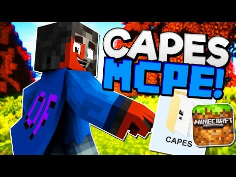How to Get CAPES in MCPE! (WIN10)