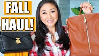FALL HAUL + TRY ON!