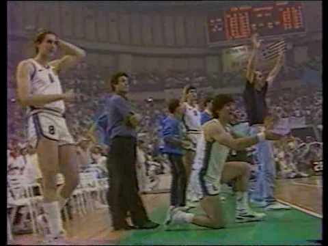 HELLAS - USSR 103-101  (Eurobasket 87 - Final)  (Last 2:42 minutes)