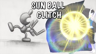 Mr. Game & Watch + Wii Fit Trainer: Sun Ball Glitch (Super Smash Bros. Wii U)