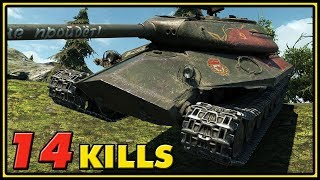 Object 252U Defender - 14 Kills - 1 vs 8 - World of Tanks Gameplay