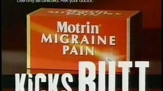 Motrin Migraine Pain (commercial, 2001)
