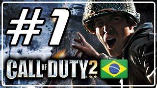 Call of Duty 2 Detonado Parte 1 - A Guerra de Inverno ( Legendado PT BR )