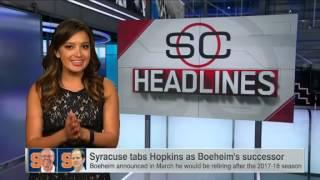 Hopkins named as Boeheim's successor at Syracuse