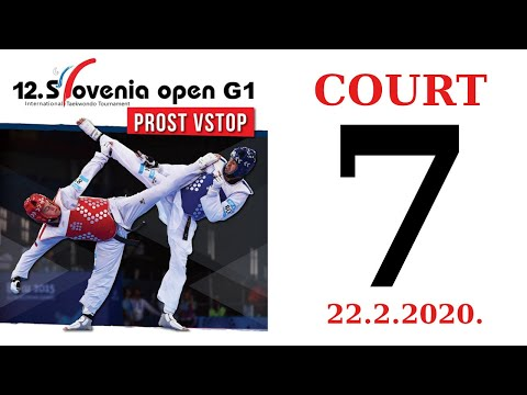 12th Slovenia Open G1 2020. - DAY 1 – COURT 7