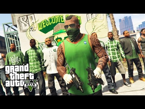 GTA 5 Real Life Thug Mod #23 - ROBBING BANKS, STORES & HOUSES!! (GTA 5 Mods)
