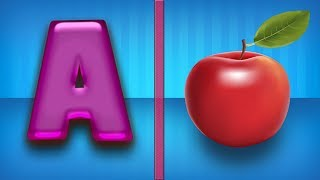 Upper Case Letters| Letters For Toddlers | Alphabets For Kids | ABCD For Children |  A For Apple