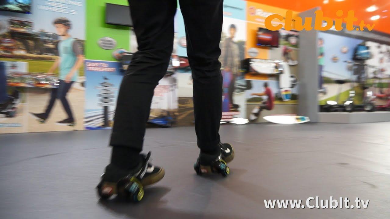 Razor Jetts Sparking Heel Wheels - YouTube