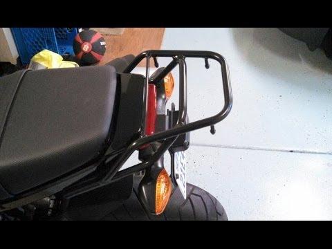 2014 Honda Grom - H2C Luggage Rack Install