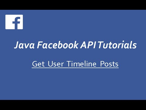 Facebook API Tutorials in Java 5 – Sample Facebook Timeline