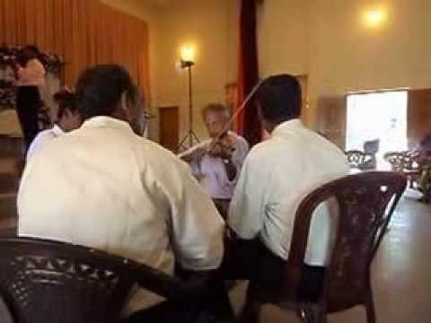 Music at Burgher wedding ( Batticaloa,Sri Lanka)