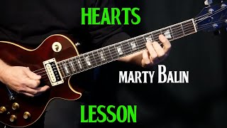 """how to play """"Hearts"""" on guitar by Marty Balin 