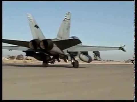 VMFA-242 Bats - Boeing F/A-18D - Combat sortie - Fallujah