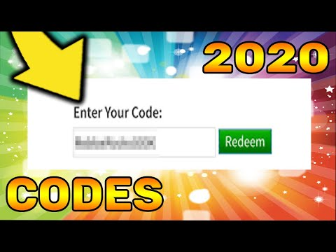 Promotional Code Roblox Wiki 2020 All Working Redeemable Roblox Promo Codes Youtube