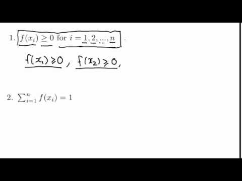 Properties of the probability distribution function
