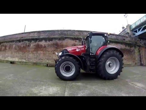 Tracteur Case IH Optum 300 CVX : Entraid teste ce monstre de puissance... à Toulouse