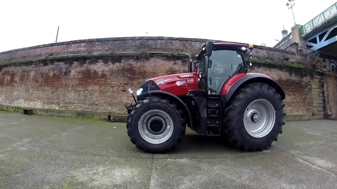 Tracteur case ih optum 300 cvx entraid teste ce monstre de puissance toulouse youtube - Image tracteur ...
