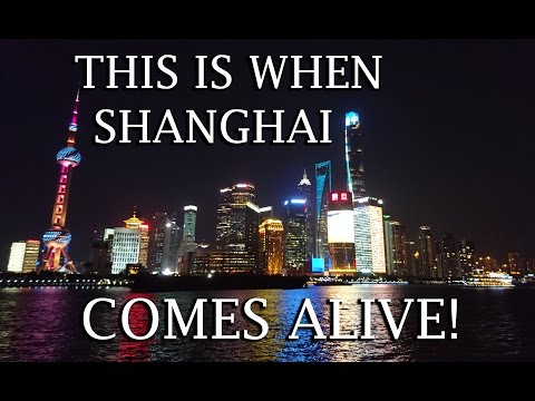 TRAVEL VLOG | THIS IS WHEN SHANGHAI COMES ALIVE! - DAYS 92 - 93