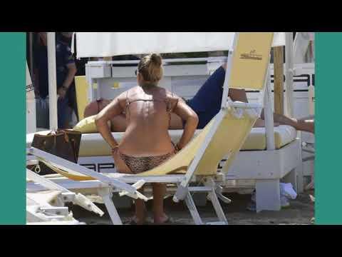 Francesca Piccinini in Bikini at the pool in Rome