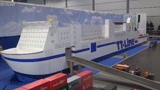 RC Trucks LKW Minitruck Modellbau ♦ Modell Hobby Spiel Leipzig 2015 Modellbaumesse Model Building