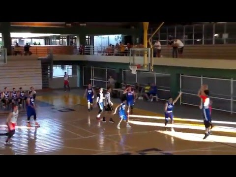 Puerto Rico National Basketball Team U16 - Gustavo Vincenty - Preparatory Games - Highlights