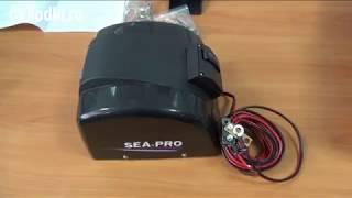 Обзор электрической якорной лебедки seapro