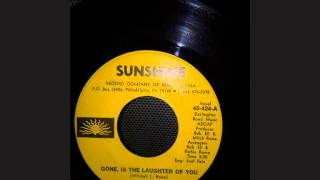 L. C. GRIER .. GONE IS THE LAUGHTER OF YOU ..  45T INSTRU ..