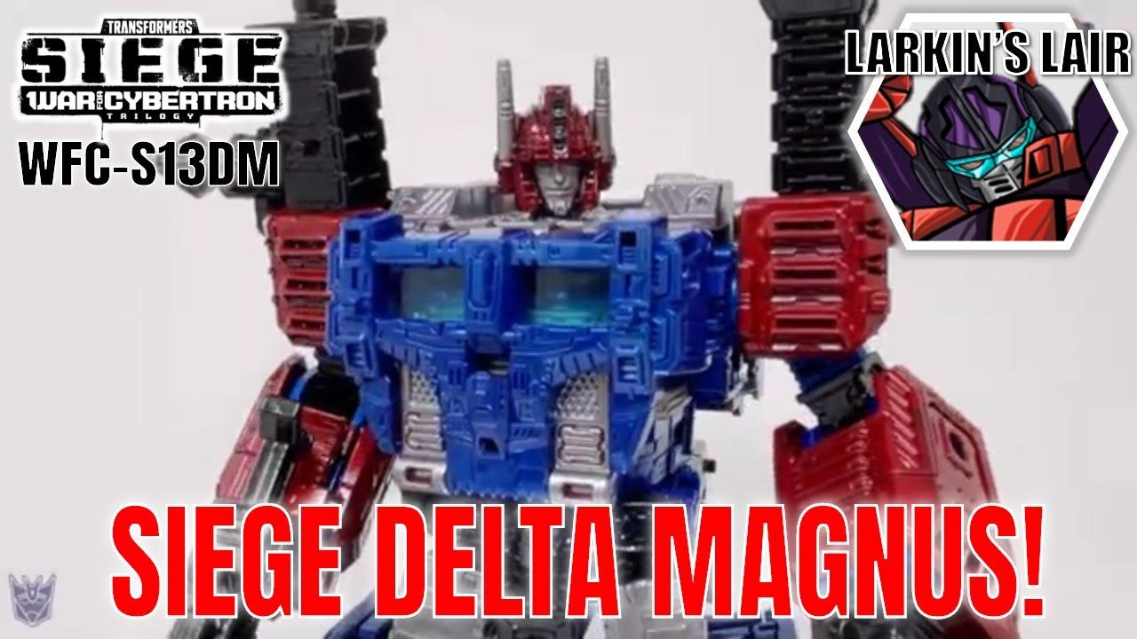 Transormers WFC Siege Delta Magnus Custom by Larkin's Lair