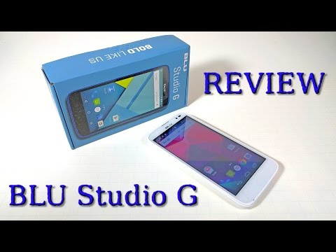 BLU Studio G REVIEW