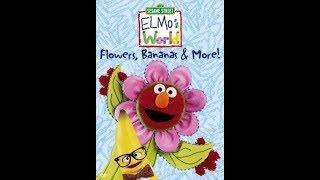 Elmo's World: Flowers, Bananas & More (2000 DVD)