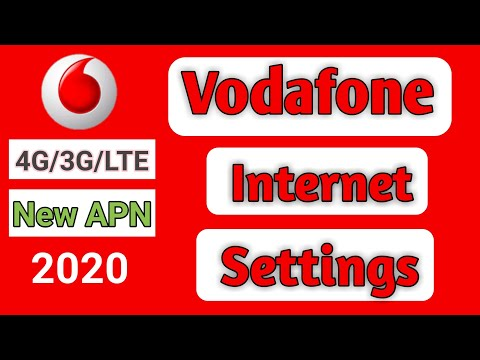 Vodafone Internet Settings 2019    Vodafone Apn Setting